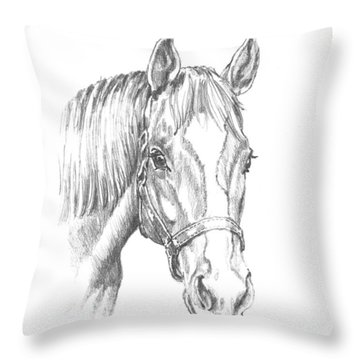 Ziggy Throw Pillow by Richard De Wolfe