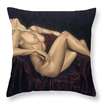 Exquisite Throw Pillow by Richard Young