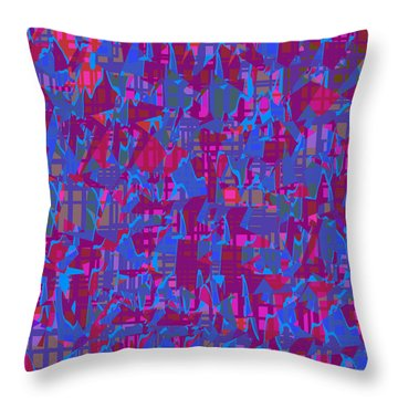 0671 Abstract Thought Throw Pillow by Chowdary V Arikatla