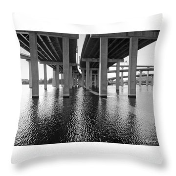 Baltimore By-pass Throw Pillow by Brian Wallace