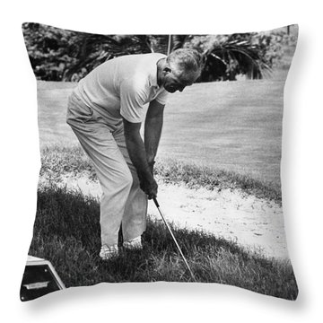 Barry Goldwater (1909-1998) Throw Pillow by Granger
