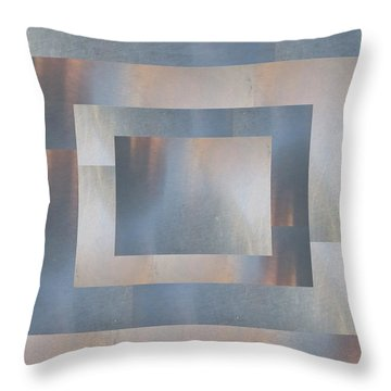 Brushed 19 Throw Pillow by Tim Allen