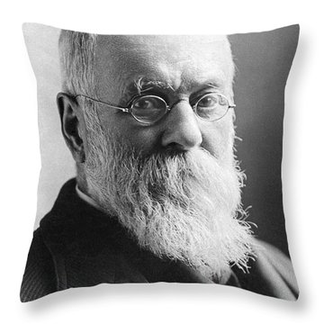 Charles Anderson Dana Throw Pillow by Granger