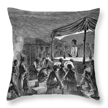 Civil War: Contraband Throw Pillow by Granger