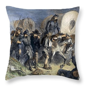Civil War: Shiloh, 1862 Throw Pillow by Granger