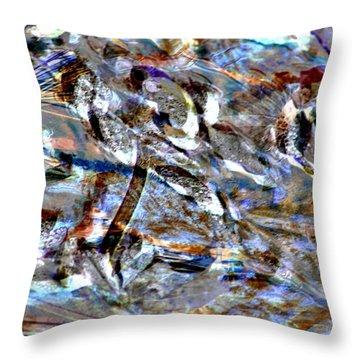 Digital Fall Throw Pillow by LeeAnn McLaneGoetz McLaneGoetzStudioLLCcom