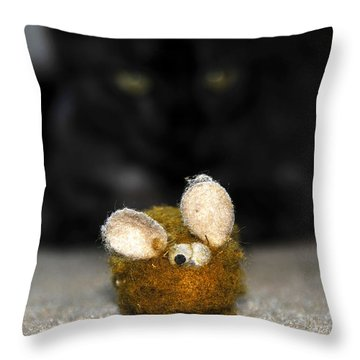Eye On The Prize Throw Pillow by David Lee Thompson