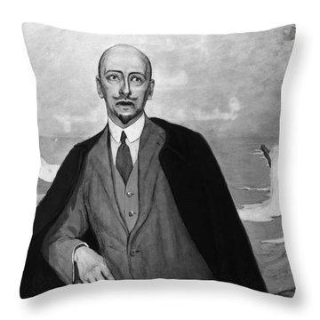 Gabriele Dannunzio Throw Pillow by Granger