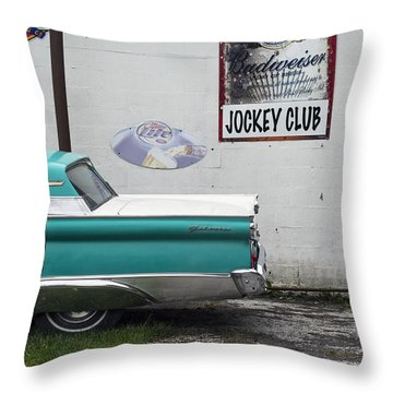 Galaxie  Throw Pillow by Lisa Plymell