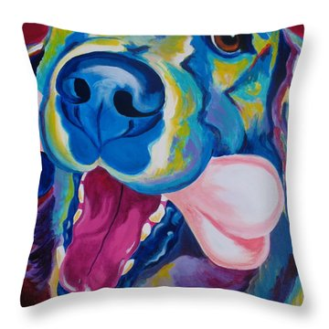 Golden - My Favorite Bone Throw Pillow by Alicia VanNoy Call