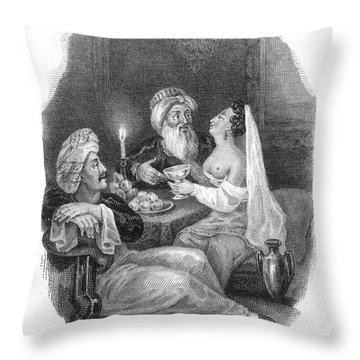 Harem Throw Pillow by Granger