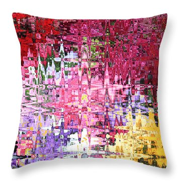 Imagine The Possibilities Throw Pillow by Carol Groenen