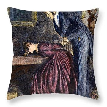 Love, 1886 Throw Pillow by Granger