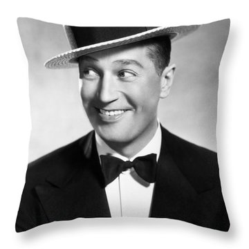 Maurice Chevalier Throw Pillow by Granger