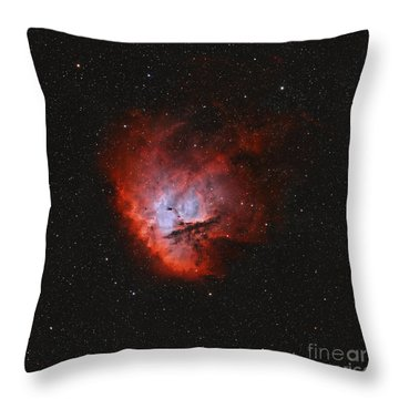 Ngc 281, The Pacman Nebula Throw Pillow by Rolf Geissinger