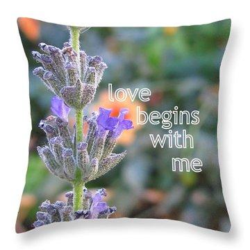 Philosophy Throw Pillow by Tina Marie