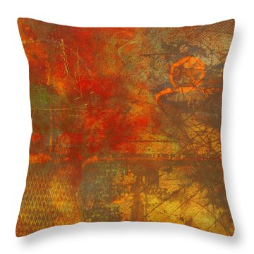 Price Of Freedom Throw Pillow by Christopher Gaston