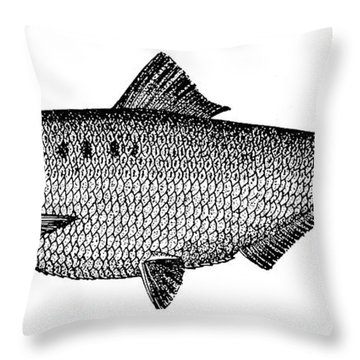 Shad Throw Pillow by Granger