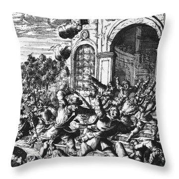 Sir Henry Morgan Throw Pillow by Granger