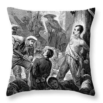 Spain: Second Carlist War Throw Pillow by Granger