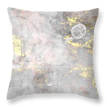 Starlight Mist Throw Pillow by Christopher Gaston