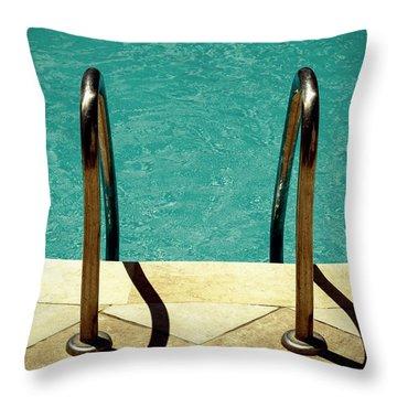 Swimming Pool Throw Pillow by Joana Kruse