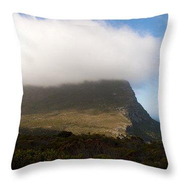 Table Mountain National Park Throw Pillow by Fabrizio Troiani