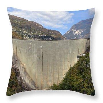 Valle Verzasca - Ticino Throw Pillow by Joana Kruse