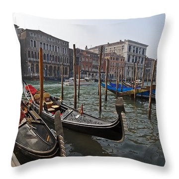 Venice - Italy Throw Pillow by Joana Kruse