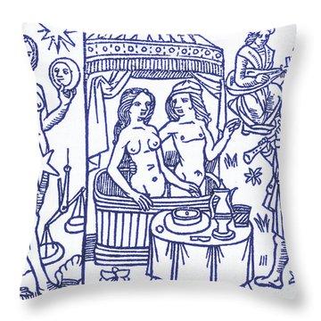 Venus, Roman Goddess Of Love Throw Pillow by Science Source