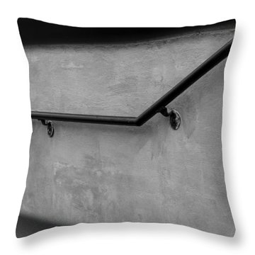 Where It Goes-3 Throw Pillow by Fran Riley