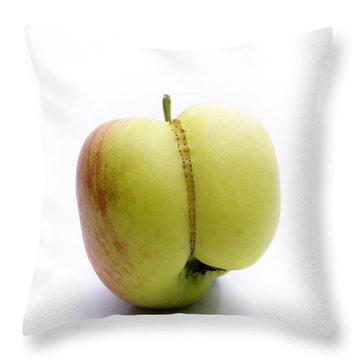 Apple Throw Pillow by Bernard Jaubert