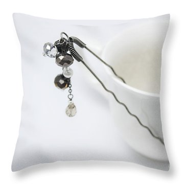 My Art Jewelry Throw Pillow by Eena Bo