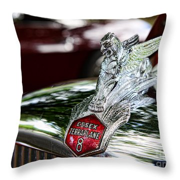 1933 Essex Terraplane 8 Throw Pillow by Paul Ward