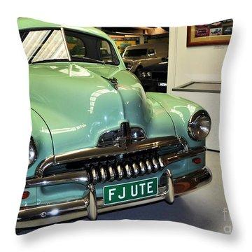 1953 Fj Holden Ute Throw Pillow by Kaye Menner