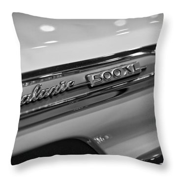 1964 Ford Galaxie 500 Xl Throw Pillow by Gordon Dean II