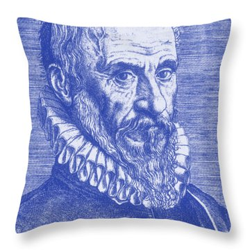 Ambroise Paré, French Surgeon Throw Pillow by Science Source