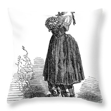 Amelia Bloomer (1818-1894) Throw Pillow by Granger