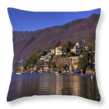 Ascona Throw Pillow by Joana Kruse