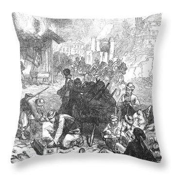 Balkan Insurgency, 1876 Throw Pillow by Granger