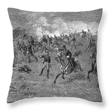 Chancellorsville, 1863 Throw Pillow by Granger