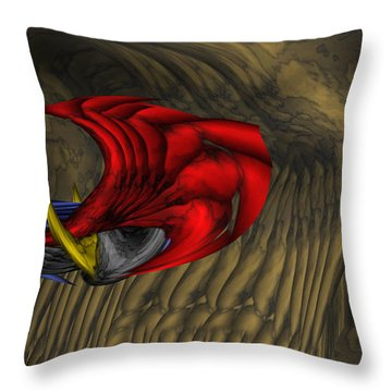 Deep Explorations Throw Pillow by Christopher Gaston