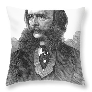 Edwards Pierrepont Throw Pillow by Granger