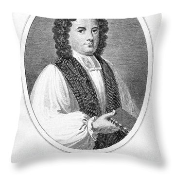 George Berkeley (1685-1753) Throw Pillow by Granger