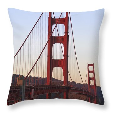 Golden Gate Bridge San Francisco Throw Pillow by Stuart Westmorland