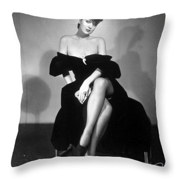 Gypsy Rose Lee (1913-1970) Throw Pillow by Granger