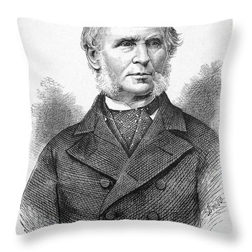 Neal Dow (1804-1897) Throw Pillow by Granger