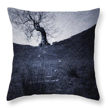 Tree Throw Pillow by Svetlana Sewell
