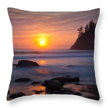 Trinidad Throw Pillow by Mark Alder