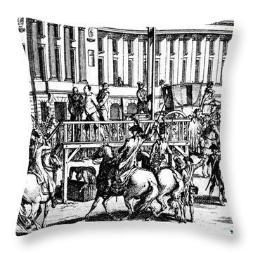Louis Xvi (1754-1793) Throw Pillow by Granger